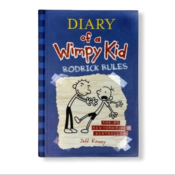 Diary of a Wimpy Kid Rodrick Rules Hardcover Book